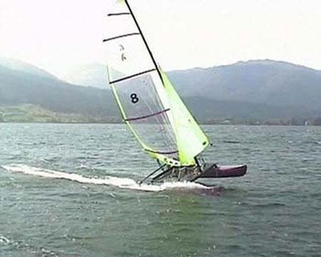 Katamaran KKat - Vorführboot